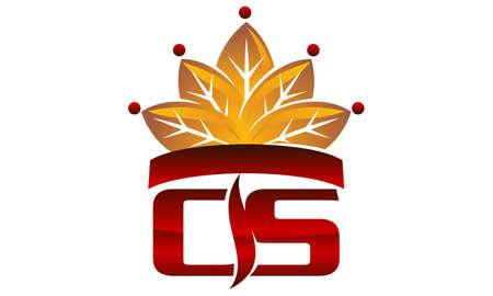 Letter CS Cigarette Crown