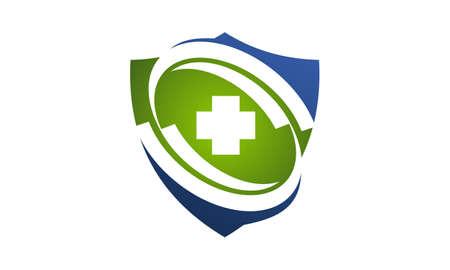 Vector de centro de cuidado saludable