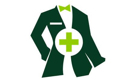 의사 복장 용 복장