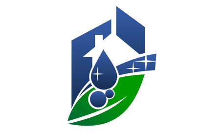 Eco Friendly Cleaning Service 일러스트