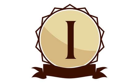 Letter I Modern Logo Concept Design.