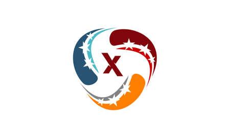 Success Solution Letter X
