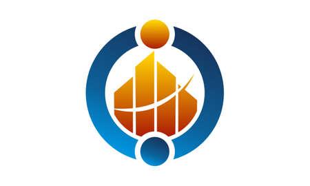 Capital Investment Community Logo Concept Design.