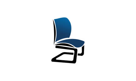 Chair Furniture Logo Design Template