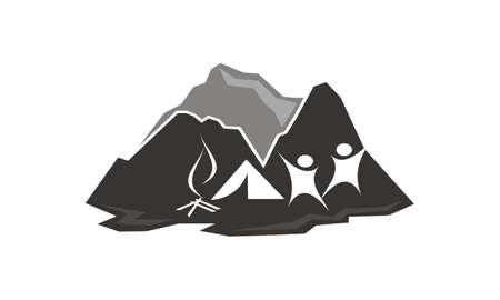 Wildlife exploration Logo Design Template Vector