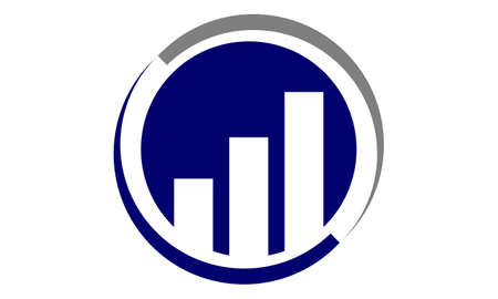 Business investment solutions icon design template illustration.
