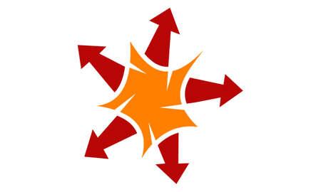 Booming Marketing concept vector illustration