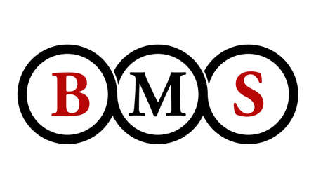Letter BMS Modern icon photography
