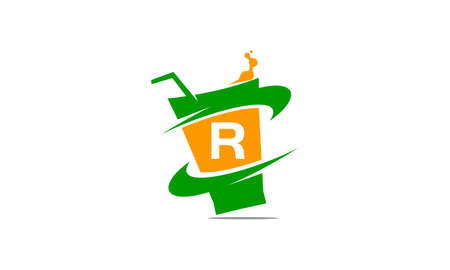 Restaurant drink with initial R.