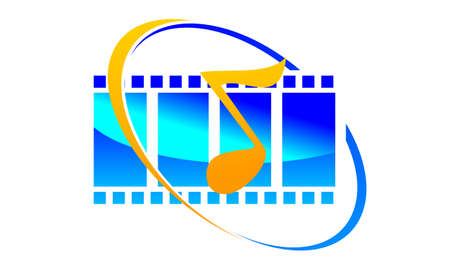 Sound Video Service Production Vector illustration. Illustration