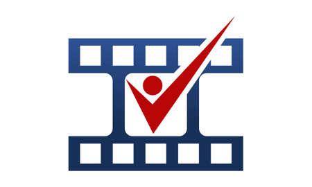 Audition Artist Cinema Template Stock Illustratie