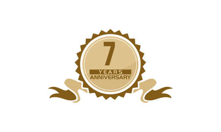 7 Years Ribbon Anniversary