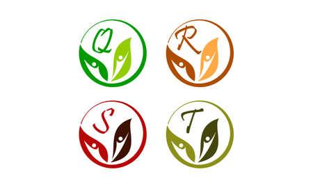Leaf Health Nutrition Initial Q R S T.