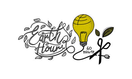 Earth Hour 60 Minute Template