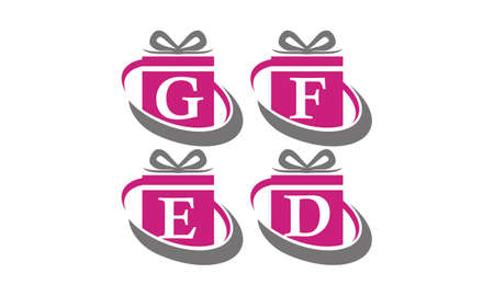 Gift Box Ribbon Set