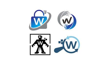 Conjunto de plantillas de aplicaciones de tecnología W