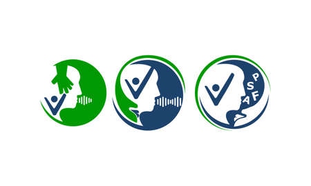 Communication health care set vector illustration.