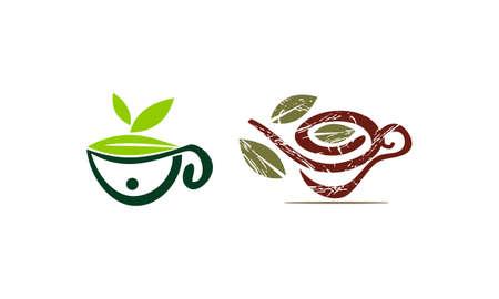 Health Tea Template Set
