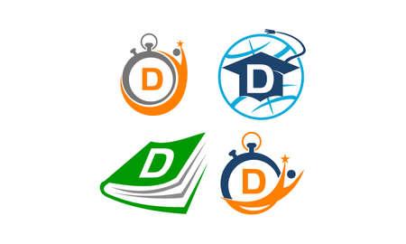 Symbol D Vector Template Set