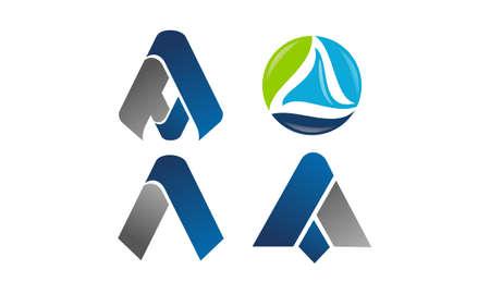 Logotype Modern Template Set.