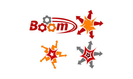 Boom Quick Marketing Set Illustration