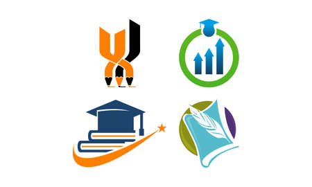 Education Vector Template Set 向量圖像