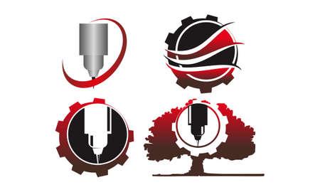 Engrave CNC Service Template Set