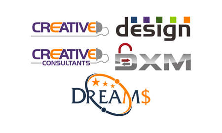 Logotype Template Vector Set