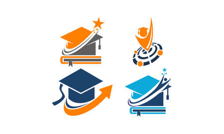 Education Vector Template Set for logos