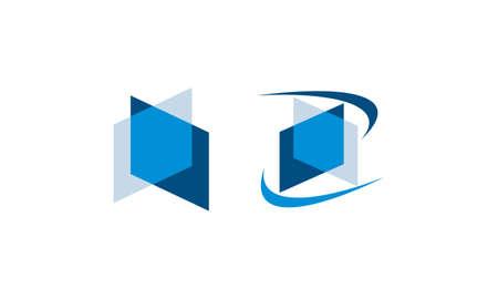 Ensemble de l'industrie du service de verre pour les logos