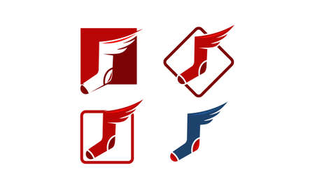 Sock Wing Template Set