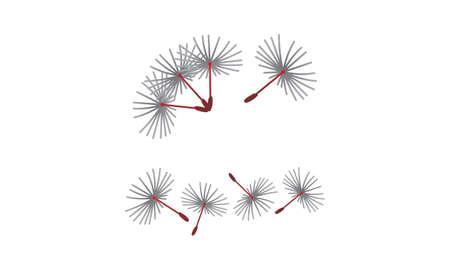 Dandelion Blowing Marketing Set