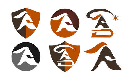 Spartan Helmet Template Set