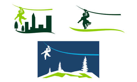 Zip Logo Design Template Set