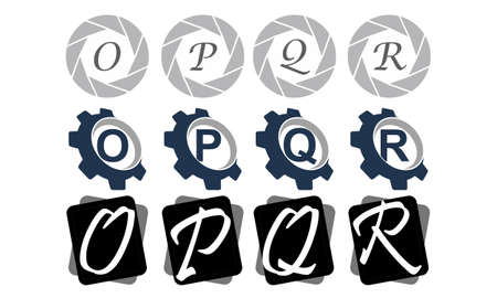 Logotype Modern Logo Solution Set