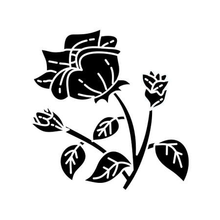 Flower Leaf Illustration Design Template Vector Imagens - 124372607