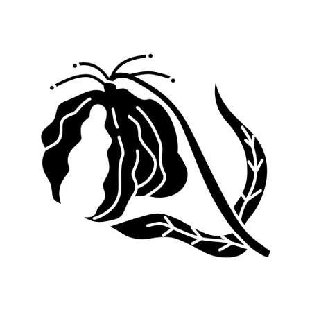 Flower Leaf Illustration Design Template Vector Imagens - 124372700