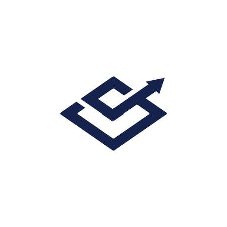 Buchhaltung Steuer Finanzgeschäft Logo Design Template Vector