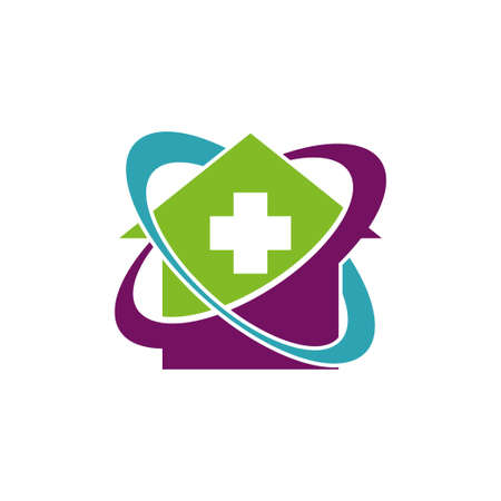 Cross Health Care Medical Logo Icon Symbol Emblem