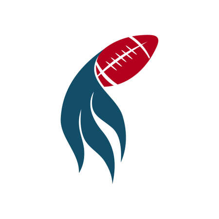 American Football Sport Logo Template Design Emblem