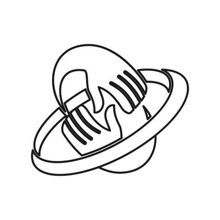 emblem hand rotation Commitment Teamwork Together Outline Logo