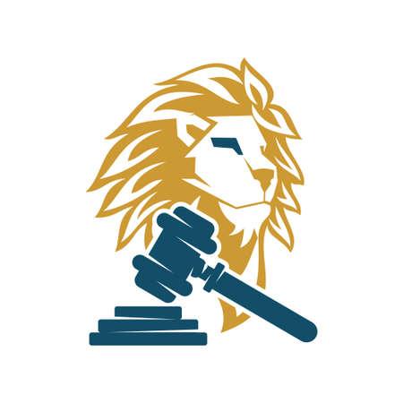 Lion Head Logo Design Symbol Illustration Template Vector Isolated 스톡 콘텐츠 - 133735318