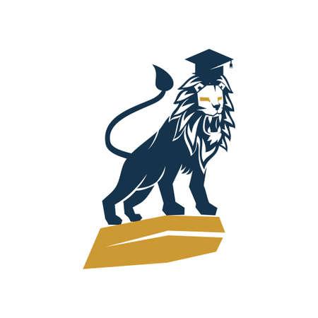 Lion Logo Design Symbol Illustration Template Vector Isolated 스톡 콘텐츠 - 133735320