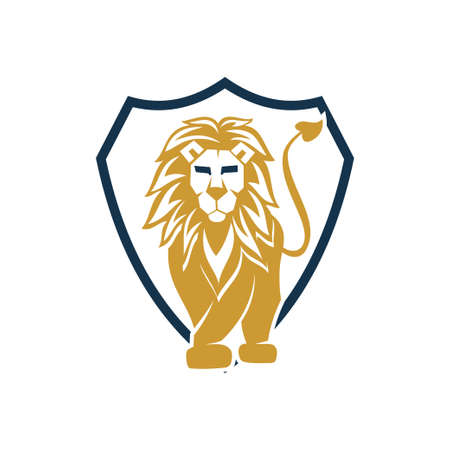 Lion Logo Design Symbol Illustration Template Vector Isolated 스톡 콘텐츠 - 133735329