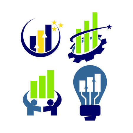 Financial Accounting Consulting Logo Template Vector icon