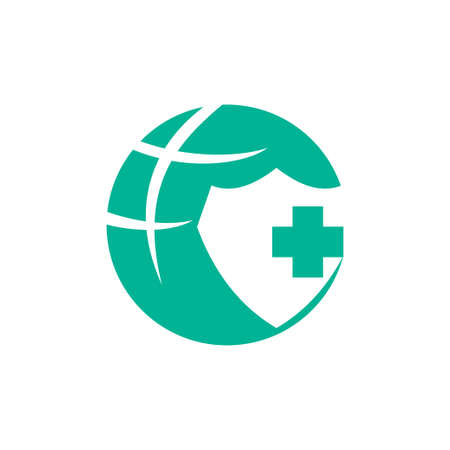 Medical Health Clinic Illustration logo  template