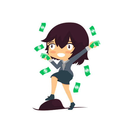 Super Rich Successful Businesswoman