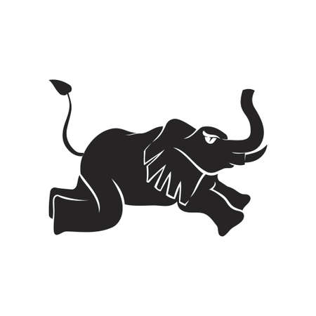 elephant Run mascot Template