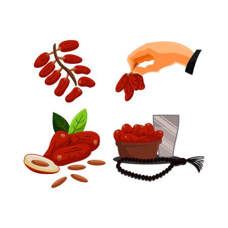 Ramadan Greetings dates fruits Popular During Ramadan or Fasting Month
