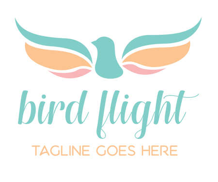 Bird Flight Logo Icon Template